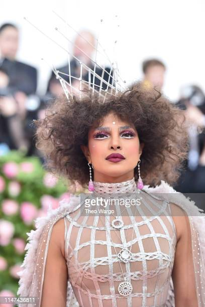 Priyanka Chopra attends The 2019 Met Gala Celebrating Camp Notes on Fashion at Metropolitan Museum of Art on May 06 2019 in New York City