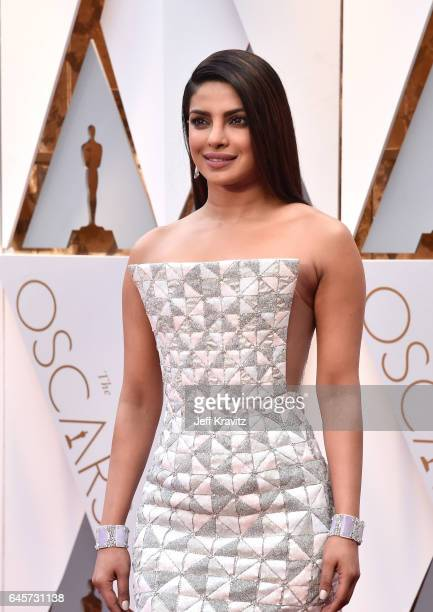 Priyanka Chopra attends the 89th Annual Academy Awards at Hollywood Highland Center on February 26 2017 in Hollywood California
