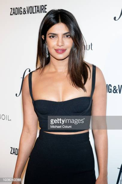 Priyanka Chopra attends The Daily Front Row 6th Annual Fashion Media Awards at Park Hyatt New York on September 6 2018 in New York City