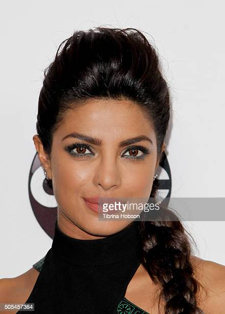 Priyanka Chopra attends the Disney/ABC 2016 Winter TCA Tour at Langham Hotel on January 9 2016 in Pasadena California