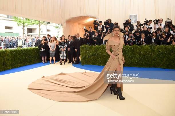 "Priyanka Chopra attends the ""Rei Kawakubo/Comme des Garcons: Art Of The In-Between"" Costume Institute Gala at Metropolitan Museum of Art on May 1,..."