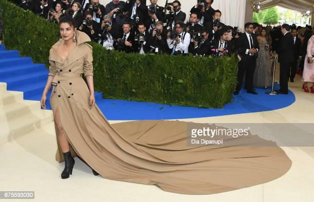 Priyanka Chopra attends the 'Rei Kawakubo/Comme des Garcons Art Of The InBetween' Costume Institute Gala at Metropolitan Museum of Art on May 1 2017...