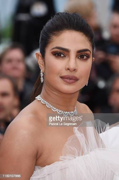 "Priyanka Chopra attends the screening of ""Les Plus Belles Annees D'Une Vie"" during the 72nd annual Cannes Film Festival on May 18, 2019 in Cannes,..."