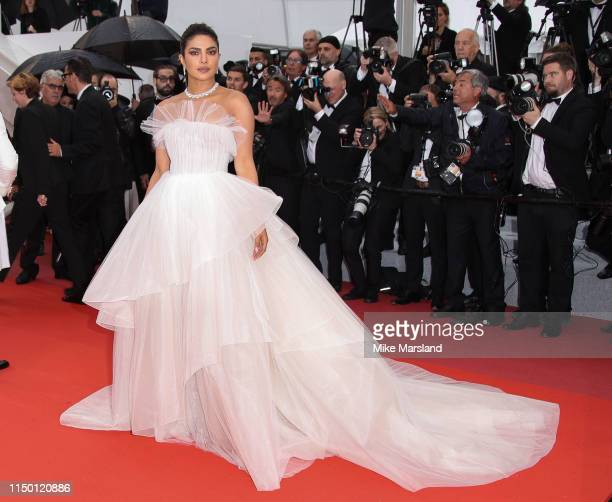 """Priyanka Chopra attends the screening of """"Les Plus Belles Annees D'Une Vie"""" during the 72nd annual Cannes Film Festival on May 18, 2019 in Cannes,..."""