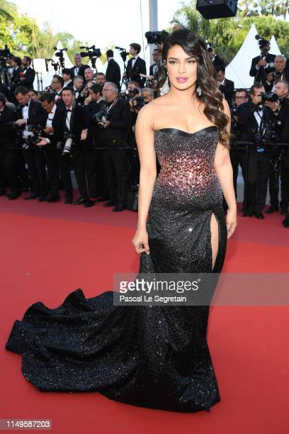 Priyanka Chopra attends the screening of Rocketman during the 72nd annual Cannes Film Festival on May 16 2019 in Cannes France