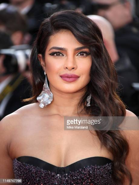 """Priyanka Chopra attends the screening of """"Rocketman"""" during the 72nd annual Cannes Film Festival on May 16, 2019 in Cannes, France."""
