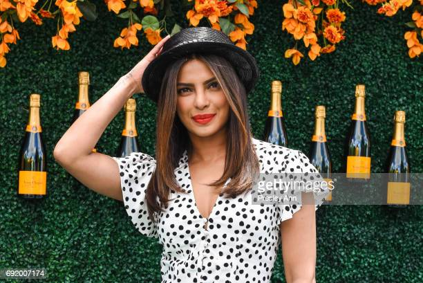 Priyanka Chopra attends The Tenth Annual Veuve Clicquot Polo Classic Arrivals at Liberty State Park on June 3 2017 in Jersey City New Jersey