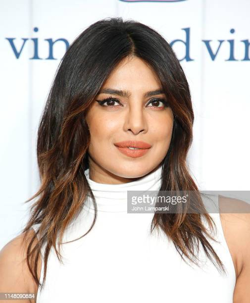 Priyanka Chopra attends Vineyard Vines for Target Launch at Brookfield Place on May 09, 2019 in New York City.
