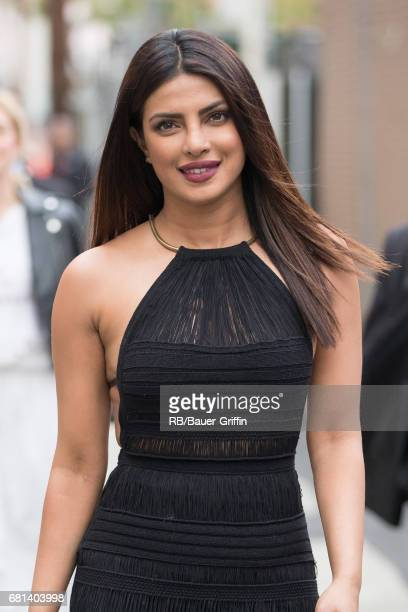 Priyanka Chopra is seen at 'Jimmy Kimmel Live' on May 09 2017 in Los Angeles California
