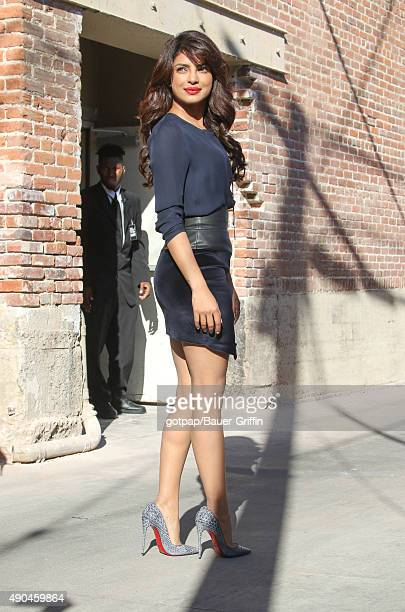 Priyanka Chopra is seen on September 28 2015 in Los Angeles California
