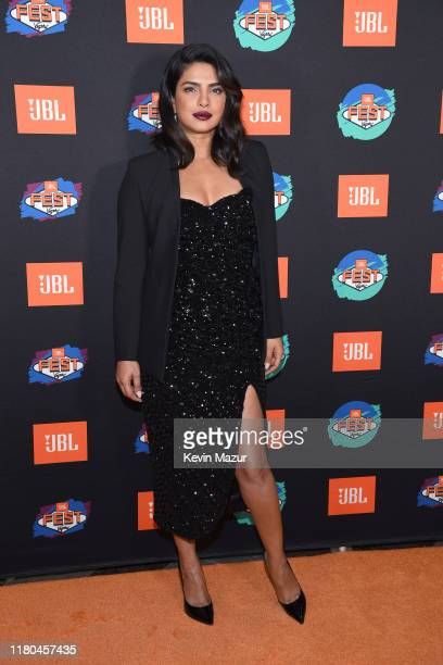 Priyanka Chopra Jonas arrives at the red carpet at CLUB JBL, one of the many events during the 3rd annual JBL Fest, an exclusive, three-day music...