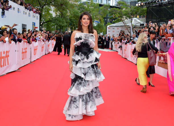 """CAN: 2019 Toronto International Film Festival - """"The Sky Is Pink"""" Premiere - Red Carpet"""