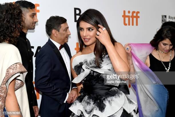 Priyanka Chopra Jonas attends The Sky Is Pink premiere during the 2019 Toronto International Film Festival at Roy Thomson Hall on September 13 2019...