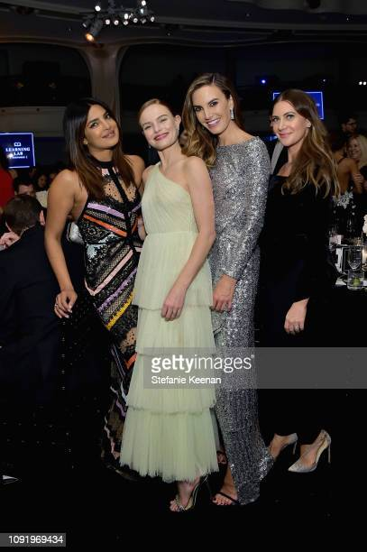 Priyanka Chopra Kate Bosworth Elizabeth Chambers and Rochelle Gores Fredston attend Learning Lab Ventures 2019 Gala Presented by Farfetch at Beverly...