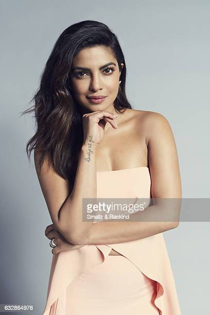 Priyanka Chopra poses for a portrait at the 2017 People's Choice Awards at the Microsoft Theater on January 18 2017 in Los Angeles California