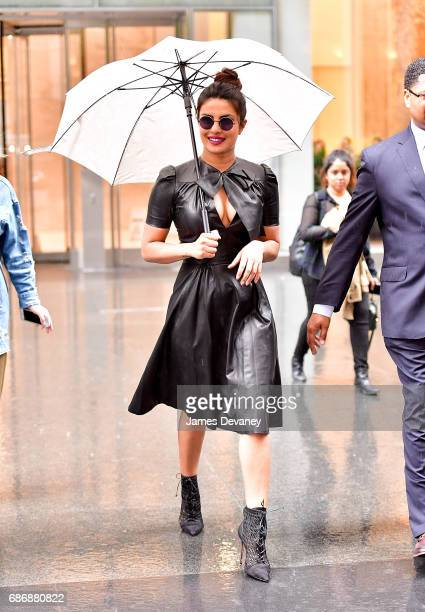 Priyanka Chopra seen on the streets of Manhattan on May 22 2017 in New York City