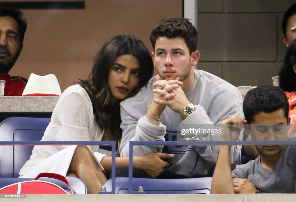 Celebrities Attend The 2018 US Open Tennis Championships - Day 9 : News Photo