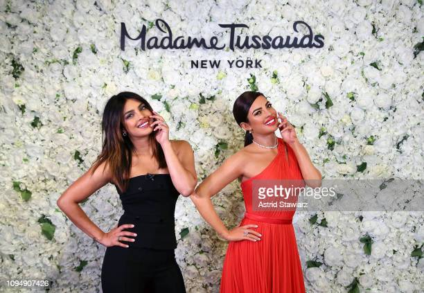 Priyanka ChopraJonas launches first ever figure at Madame Tussauds on February 6 2019 in New York City