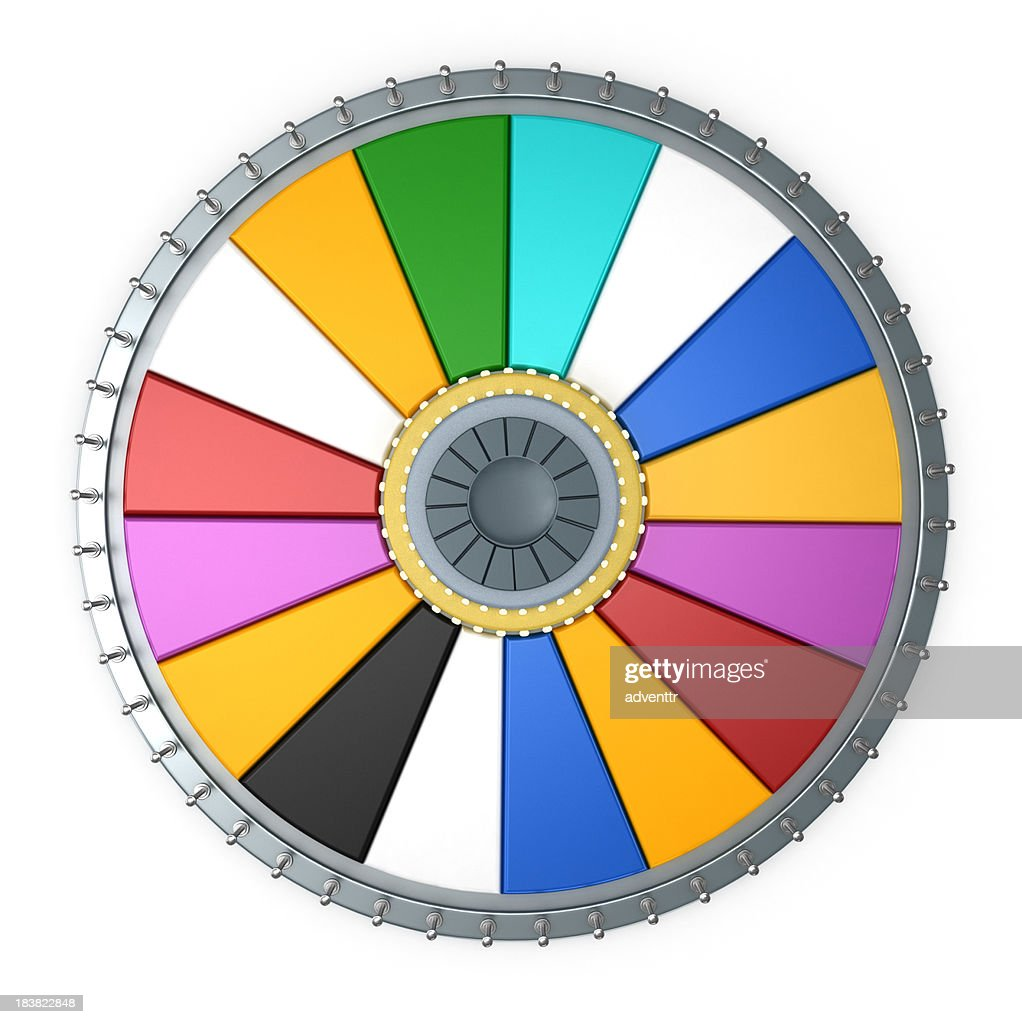 Prize wheel : Stock Photo