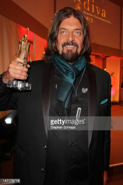 Prize winner Alan Parsons attends the Diva Award 2012 at Hotel Bayerischer Hof Promenadeplatz on June 26 2012 in Munich Germany