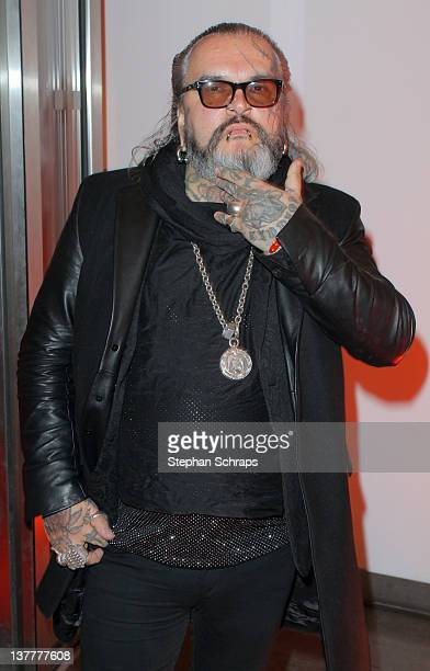 Prize winner Sven Marquardt of the 'Berghain' Club attends the award ceremony of the 'BZ Culture Awards' given in the AxelSpringer publishing house...