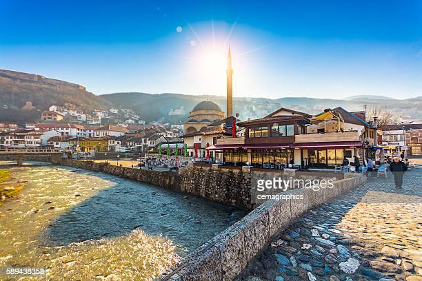 Prizren view with Sinan Pasha Mosque