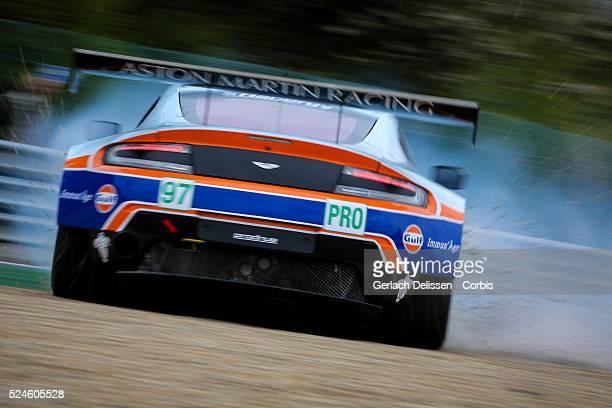 Pro Aston Martin Racing Aston Martin Vantage V8 of Darren Turner / Stefan Mucke / Rob Bell in action during Round 2 of the 2015 FIA World Endurance...