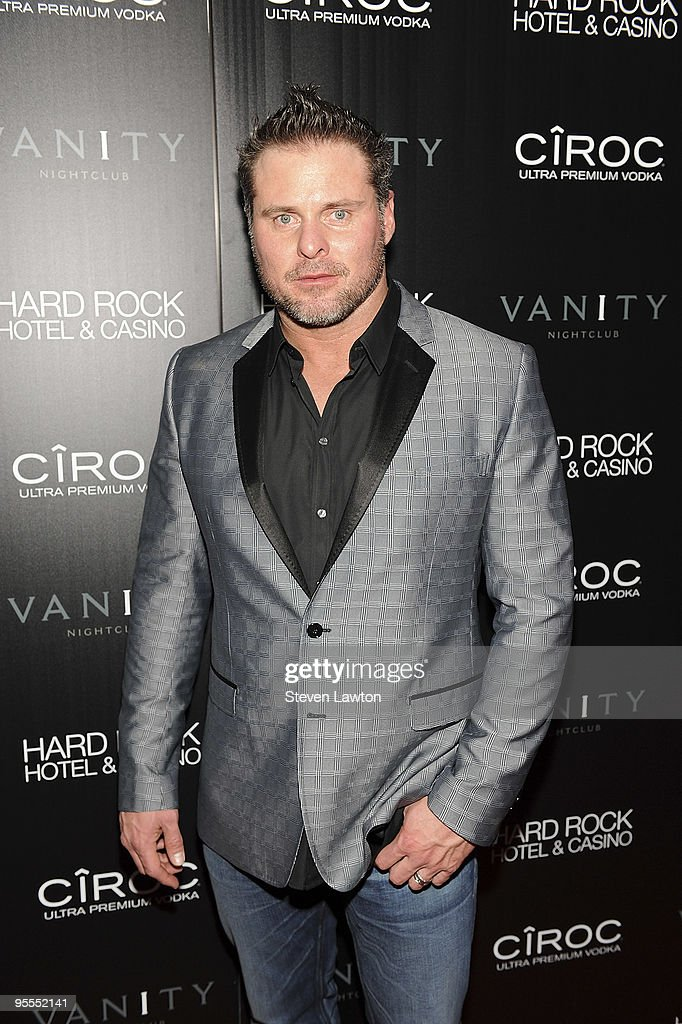 Pro baseball player Jason Giambi attends the grand opening of the Vanity nightclub hosted by Sean Diddy Combs at the Hard Rock Hotel and Casino on January 2, 2010 in Las Vegas, Nevada.