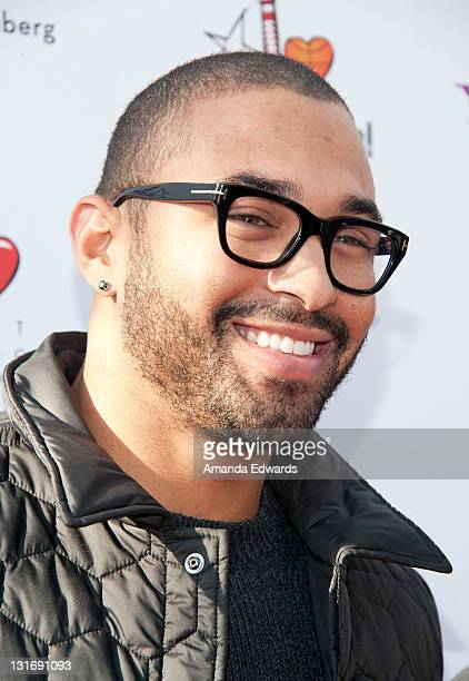 Pro baseball player Matt Kemp arrives the Yahoo Sports Presents A Day Of Champions event at the Sports Museum of Los Angeles on November 6 2011 in...