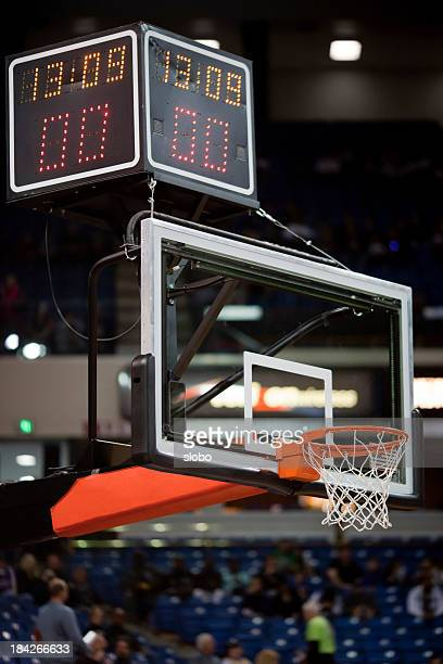 pro basketball hoop - scoreboard stock pictures, royalty-free photos & images