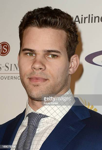 Pro basketball player Kris Humphries attends the 28th Anniversary Sports Spectacular Gala at the Hyatt Regency Century Plaza on May 19 2013 in...