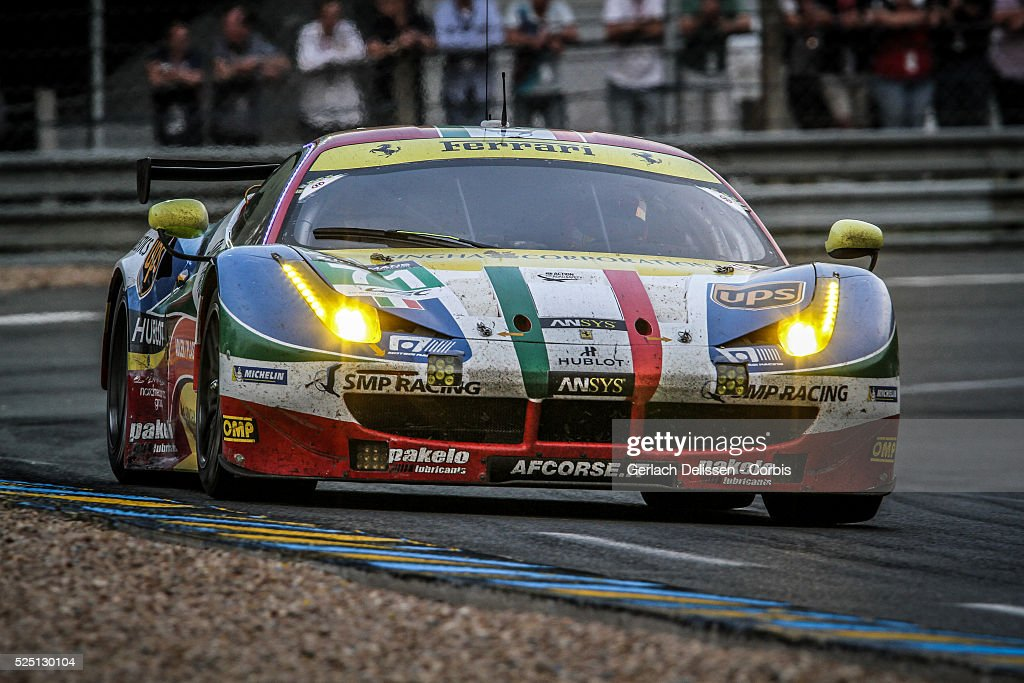 France - the 2015 Le Mans 24 Hours - Race - Le Mans June 13th-14th : News Photo