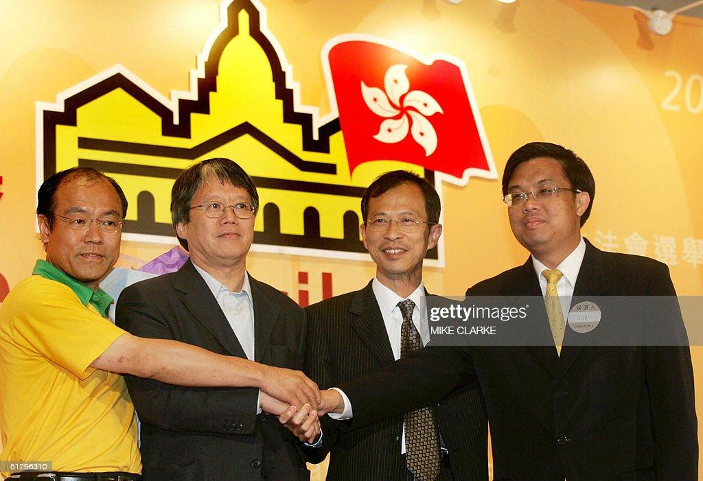 Pro democracy candidate Frederick Fung ( : News Photo