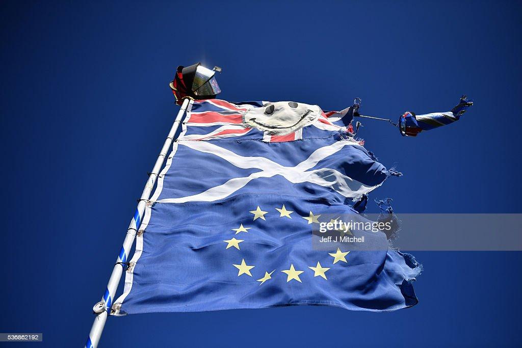 EU Referendum - Signage And Symbols : Nachrichtenfoto