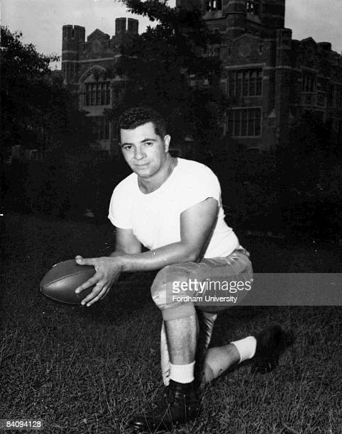 Pro Football Hall of Fame coach Vince Lombardi in his college coaching days Lombardi returned to Fordham University in 1947 to coach the freshman...