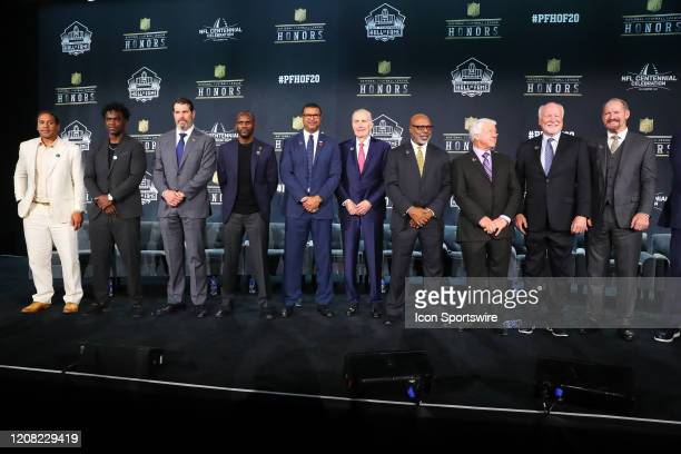 Pro Football Hall of Fame members Troy PolamaluEdgerrin James Steve Hutchinson Isaac Bruce Steve Atwater Paul Tagliabue Donnie Shell Jimmie Johnson...