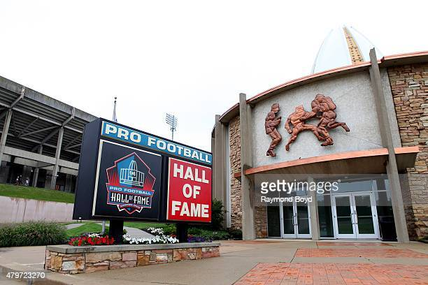 Pro Football Hall of Fame on June 20, 2015 in Canton, Ohio.