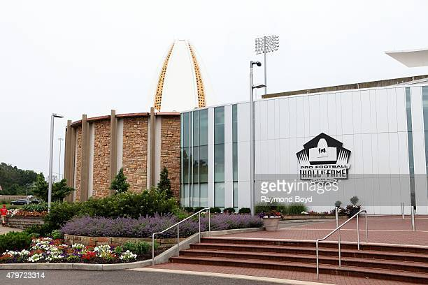 Pro Football Hall of Fame on June 20 2015 in Canton Ohio