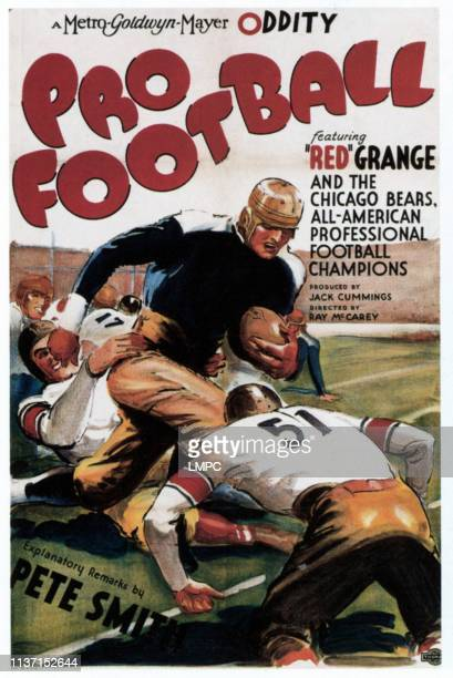 Pro Football poster 1934