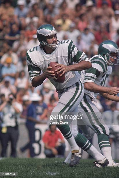 Pro Football: Preseason, Philadelphia Eagles QB Roman Gabriel in action vs New York Giants during preseason, Princeton, NJ 8/31/1974