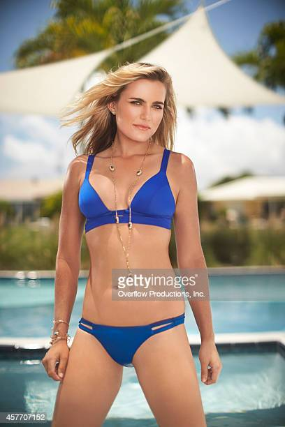 Pro golfer Lexi Thompson is photographed for Golf Punk magazine on June 3 2014 in Palm Beach Florida