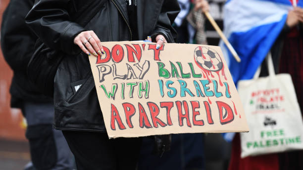 GBR: Scotland v Israel - 2022 FIFA World Cup Qualifier