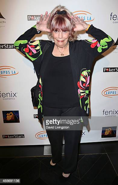 Pro poker player Barbara Enright attends the Stars Get Lucky For Lupus 6th Annual Poker Tournament at Avalon on September 18 2014 in Hollywood...