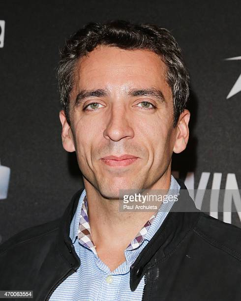 Pro Race Car Driver Justin Wilson attends the screening of 'WINNING The Racing Life Of Paul Newman' at the El Capitan Theatre on April 16 2015 in...