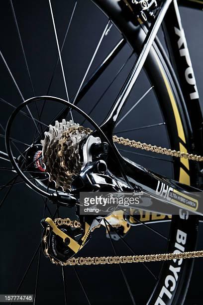 プロロード自転車 - 変速ギア ストックフォトと画像
