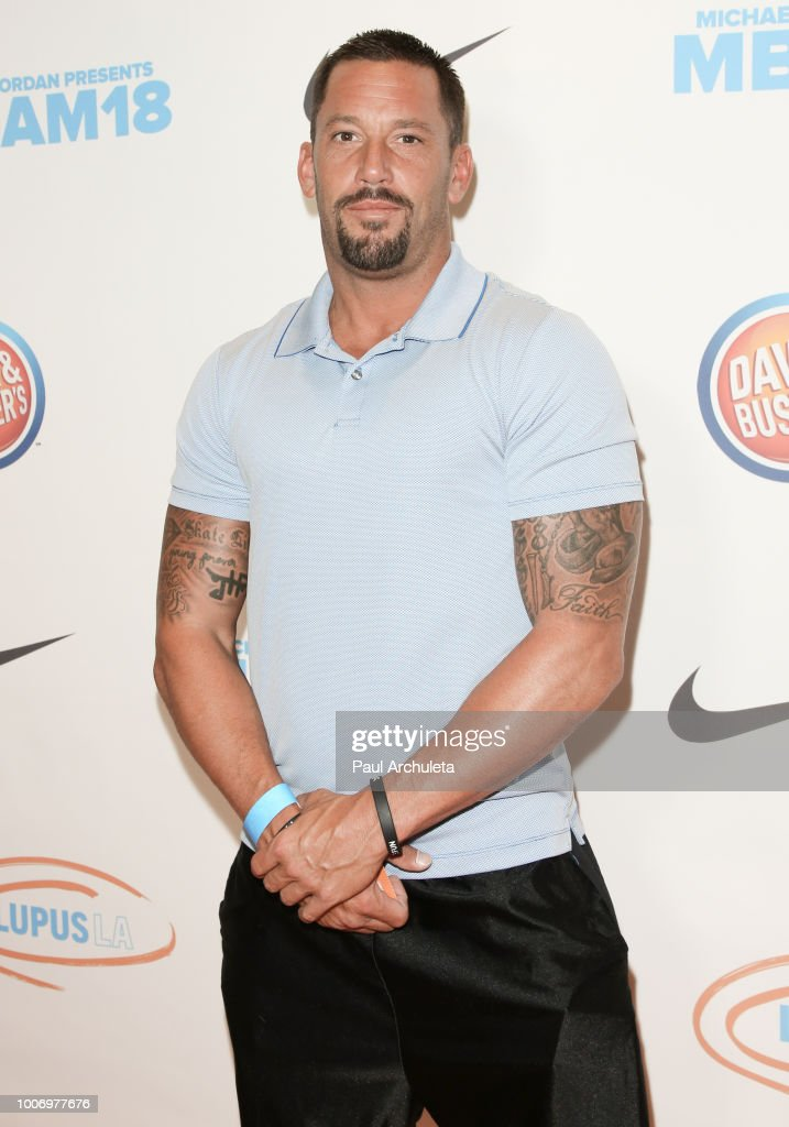 Pro Skateboarder Brandon Biebel attends the 2nd annual MBJAM18 presented by Michael B. Jordan and Lupus LA at Dave & Buster's on July 28, 2018 in Los Angeles, California.