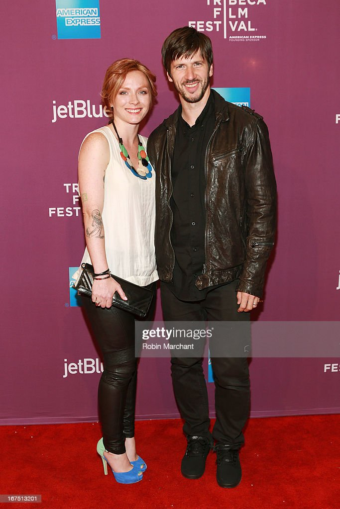 Pro Skateboarder Chris Cole (R) and guest attend 'The Motivation' World Premiere during the 2013 Tribeca Film Festival on April 25, 2013 in New York City.
