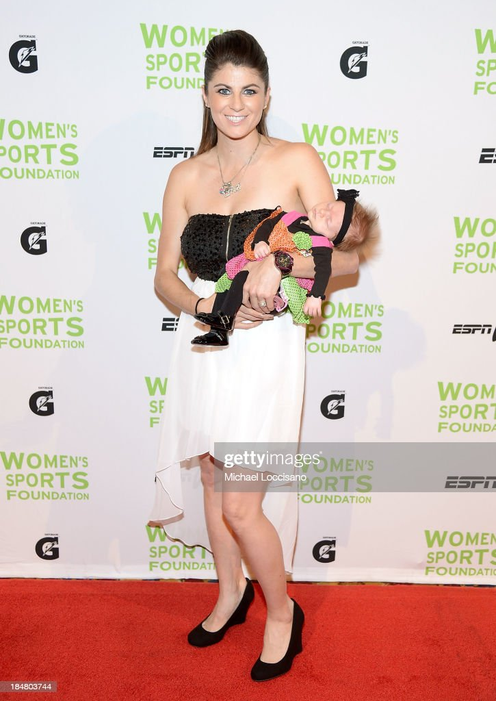 Pro Skateboarder Lyn-Z Adams Hawkins-Pastrana attends the 34th annual Salute to Women In Sports Awards at Cipriani, Wall Street on October 16, 2013 in New York City.