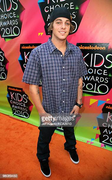 Pro skateboarder Ryan Sheckler arrives at Nickelodeon's 23rd Annual Kids' Choice Awards held at UCLA's Pauley Pavilion on March 27 2010 in Los...