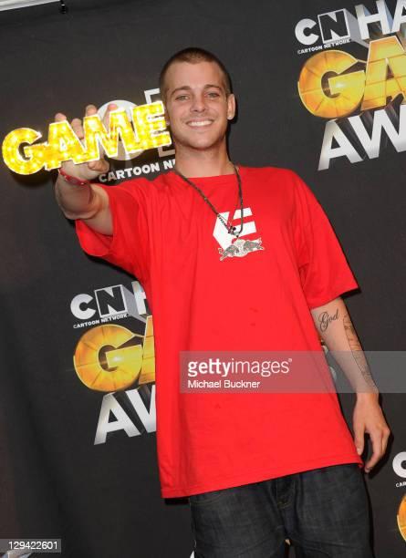 Pro skateboarder Ryan Sheckler attends the Cartoon Network Hall of Game Awards held at The Barker Hanger on February 21 2011 in Santa Monica...